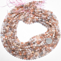 Round 6mm Moonstone Bead Strand 37177