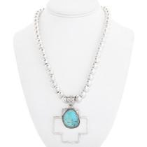 Native American Turquoise Pendant 40653