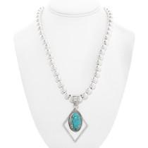 Arizona Turquoise Navajo Pendant 40656