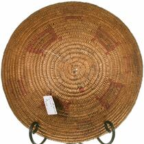 Apache Jicarilla Tribe Antique Basket Deep Bowl 40684