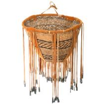Vintage Apache Burden Basket 40685