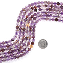 Round Amethyst Beads 37179
