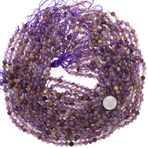 Super 7 Crystal Cacoxenite Bead Strand 37179