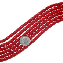 Red Coral Beads 37184