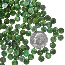 Green Spiderweb Turquoise Cabochons 37188