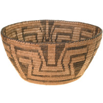 Antique Pima Indian Basket Bowl 40702