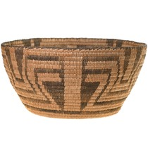 Hand Woven Pima Basket Early 20th Century 40702