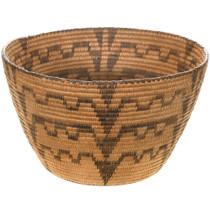 Pima Indian Geometric Basket Bowl 40703
