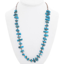 Native American Turquoise Nugget Necklace 40710