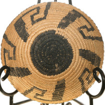 Traditional Papago Pattern Hand Woven Basket 40711