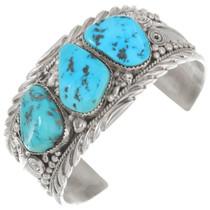Vintage Sleeping Beauty Turquoise Navajo Bracelet 40718