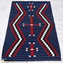 Vintage Navajo Revival Chiefs Rug 40724