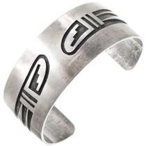 Sterling Silver Hopi Cuff Bracelet 40732