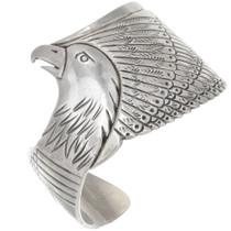 Sterling Silver Eagle Bracelet 40748