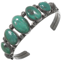 Old Pawn Green Turquoise Bracelet 40749