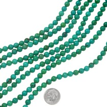 Deep Green-Blue Turquoise Beads 37197