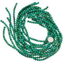 6mm Round Turquoise Beads Priced Per Strand 37197