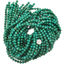9mm Turquoise Beads Priced Per Strand 37208