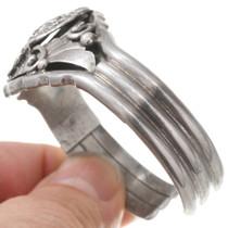 Native American Sterling Silver Eagle Bracelet 40765