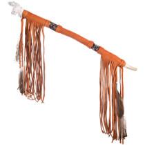 Navajo Smokable Bear Effigy Peace Pipe 40782