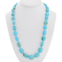 Native American Turquoise Necklace 40790