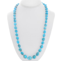Natural Turquoise Nugget Necklace 40794