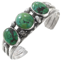 Old Pawn Green Turquoise Bracelet 40826