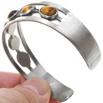 Vintage Silver Tigers Eye Bracelet 40830