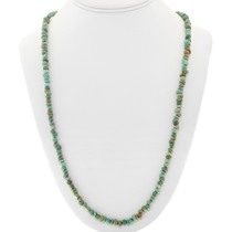 Green Turquoise Nugget Necklace 40836