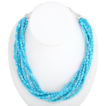 Natural Sleeping Beauty Turquoise Necklace 40838