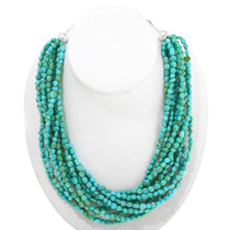 Natural Sleeping Beauty Turquoise Necklace 40842