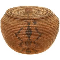 Antique Washoe Indian Basket 40864