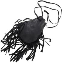 Black Leather Medicine Bag 40869