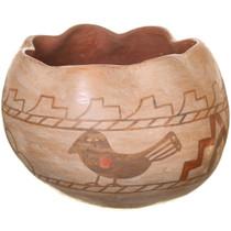 Vintage Jemez Pueblo Bird Pottery 40872