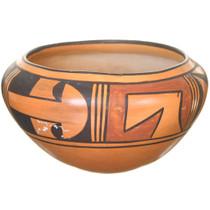 Hopi Polychrome Pottery Bowl 40873