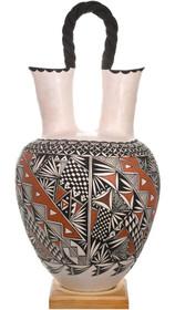 Huge Acoma Wedding Vase Pottery 40725