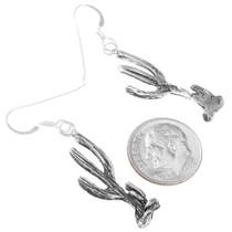Saguaro Cactus Sterling Silver Earrings 40910