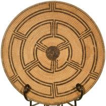 Large Vintage Pima Basket Bowl 40882