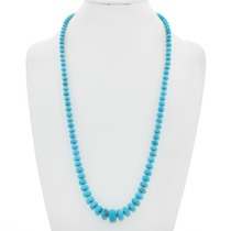 Gold Sleeping Beauty Turquoise Necklace 40922