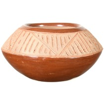 Small Native American Pottery Storage Pot 40928