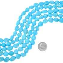 Natural Sleeping Beauty Turquoise Beads 37238