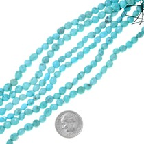 Small Natural Turquoise Beads 37239