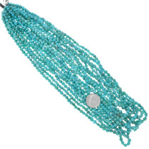 5mm Natural Turquoise Bead Strand 37240
