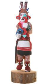 Vintage Hopi Clown Kachina Doll 40934