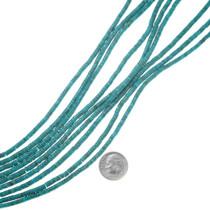 Blue Green Turquoise Heishi Beads 37245