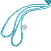 Genuine Turquoise Heishi Beads 37248