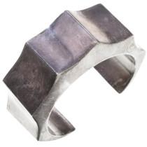 Vintage Navajo Sterling Silver Cuff Bracelet 40802