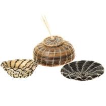 Vintage Miniature Horsehair Baskets 40952