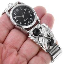 Black Onyx Navajo Watch 40954