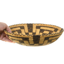 Papago Turtleback Pattern Basket 40966